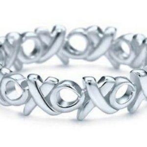 Tiffany & Co Paloma Picasso Love & Kisses Ring 6.5